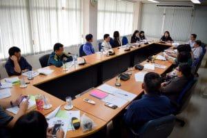 การประชุมทบทวนทิศทางการพัฒนาและปรับปรุงหลักสูตรของคณะวิทยาการจัดการ