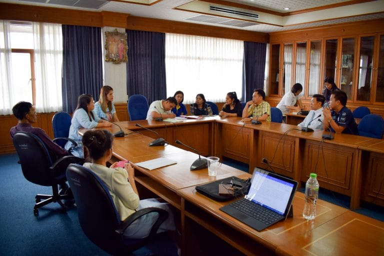 Read more about the article การประชุมคณะกรรมการฝึกซ้อมบัณฑิตเพื่อเตรียมเข้ารับพระราชทานปริญญาบัตรประจำปี 2560