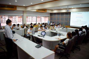 โครงการพัฒนานักศึกษาสาขาวิชาการตลาด กิจกรรมอบรมเตรียมความพร้อมในการก้าวสู่วิชาชีพด้านการตลาด