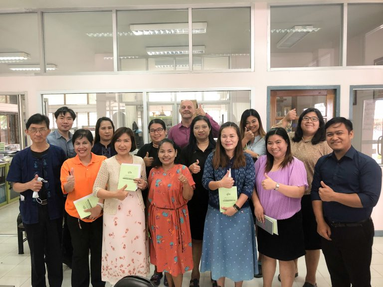 Read more about the article โครงการพัฒนาทักษะภาษาอังกฤษสำหรับบุคลากรในมหาวิทยาลัย ครั้งที่ 3
