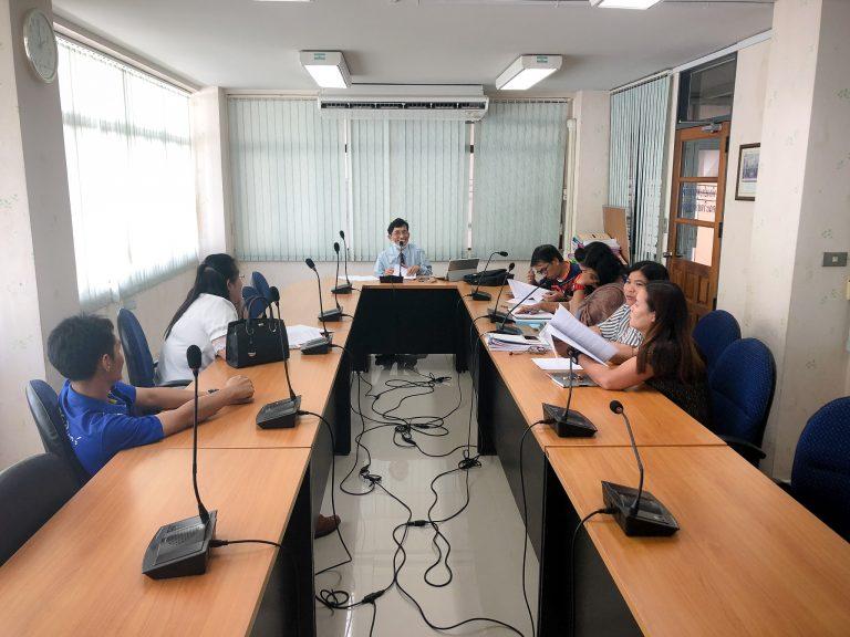 Read more about the article การประชุมคณะกรรมการงานวิจัยและผลงานวิชาการ