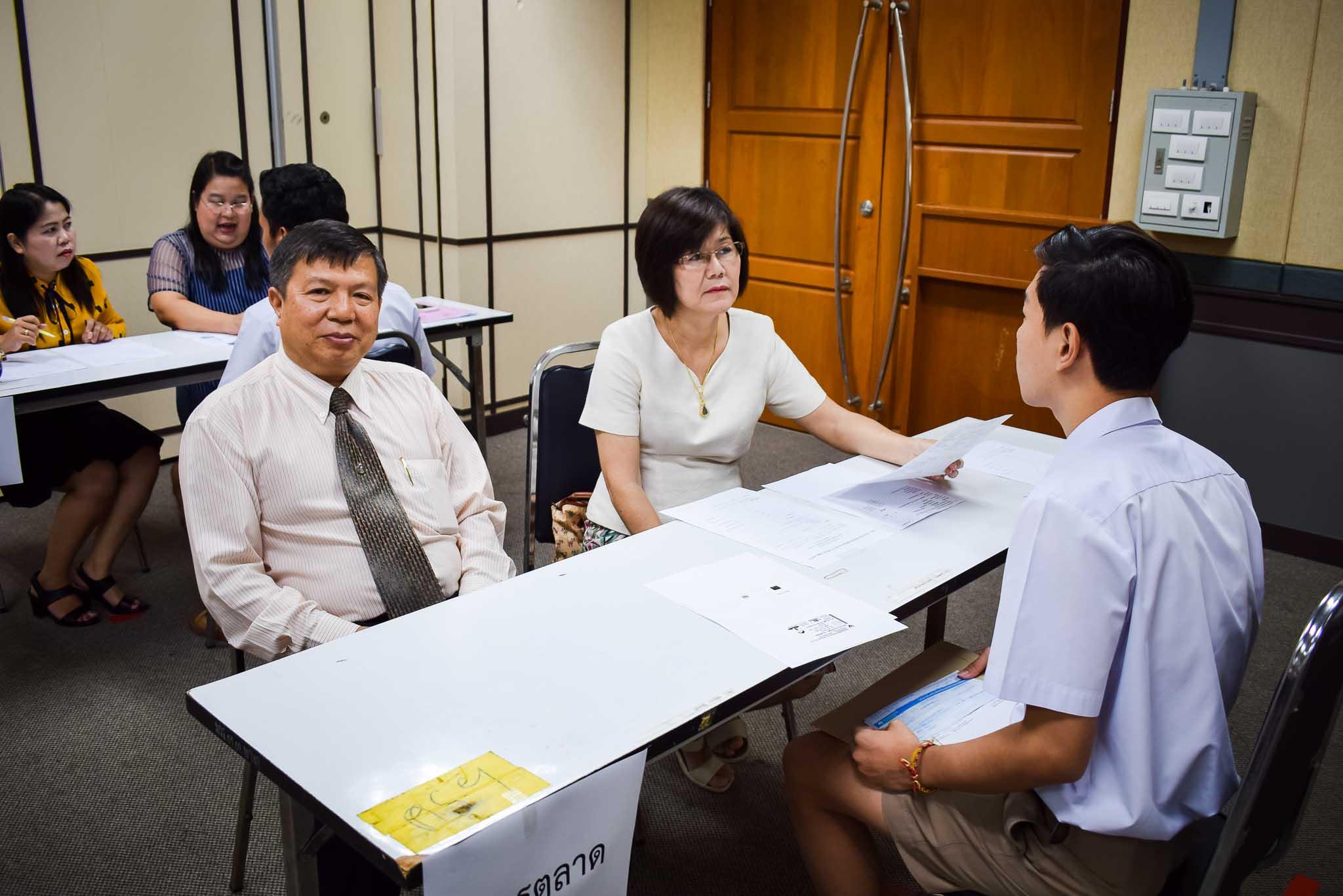 สอบสัมภาษณ์รับนักศึกษา ประจำปีการศึกษา 2561 รอบ 4 (รับตรงมหาลัย ครั้งที่ 2)