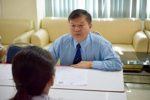 สอบสัมภาษณ์รับนักศึกษา ประจำปีการศึกษา 2561 รอบ 5