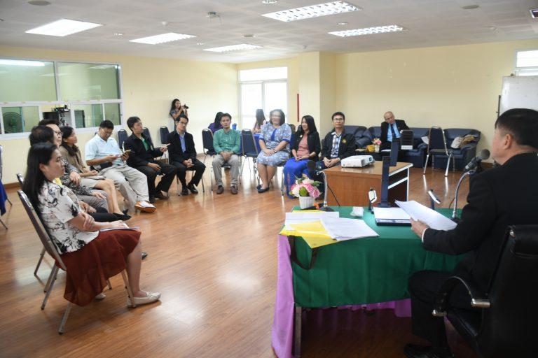 โครงการพัฒนา Facilitator ให้เป็นแกนหลักในการจัดการความรู้(KM)