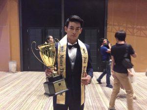 นักศึกษาสาขาวิชานิเทศศาสตร์ได้รับรางวัลรองชนะเลิศอันดับ 2 ในการประกวด MISTER & MISSTEEN THAILAND 2018
