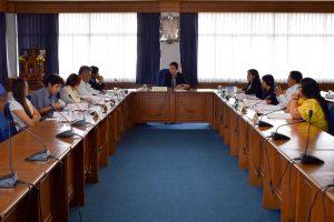 ประชุมคณะกรรมการประจำคณะ คณะวิทยาการจัดการ ครั้งที่ 1/2562