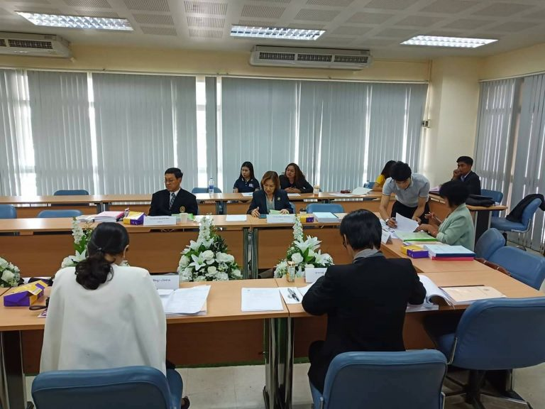 การสอบวิทยานิพนธ์(5บท) หลักสูตรบริหารธุรกิจมหาบัณฑิต