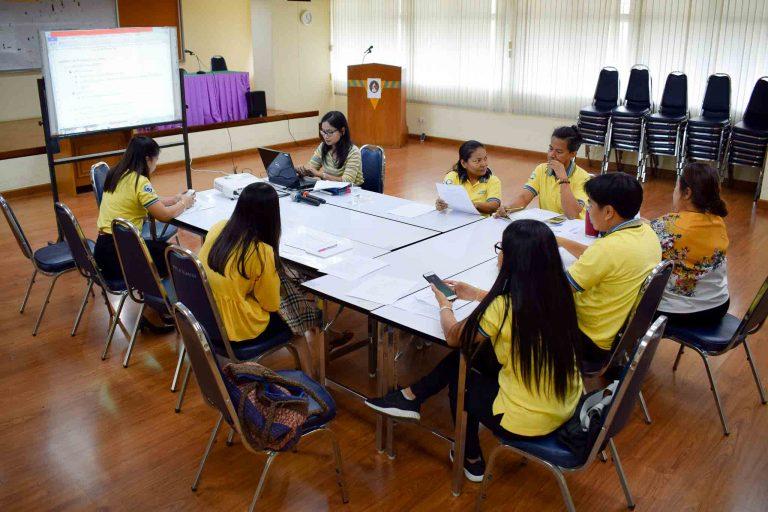 โครงการพัฒนาการจัดการความรู้เพื่อนำไปสู่การสร้างองค์ความรู้ในองค์กรของมหาวิทยาลัยราชภัฏราชนครินทร์ ครั้งที่ 4