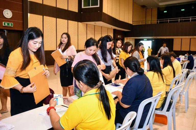 รายงานตัวบัณฑิตเพื่อเข้ารับพระราชทานปริญญาบัตร ประจำปีการศึกษา 2560 -2561