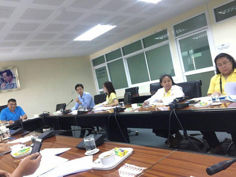 ประชุมคณะกรรมการบริหารอาคารสถานที่และภูมิทัศน์ ครั้งที่ 2/2562