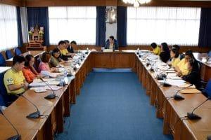ประชุมคณะกรรมการประจำคณะ คณะวิทยาการจัดการ ครั้งที่ 4/2562