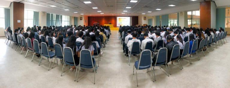 กิจกรรมปฐมนิเทศนักศึกษาฝึกประสบการณ์วิชาชีพ ภาคเรียนที่ 2/2562