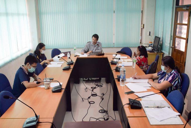 การประชุมคณะกรรมการบริหารคณะวิทยาการจัดการ ครั้งที่ 13/2563