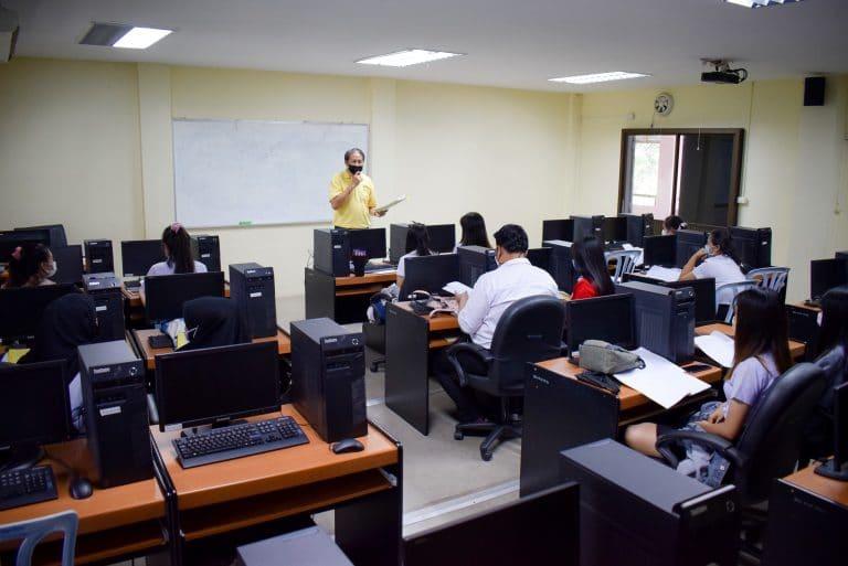 Read more about the article กิจกรรมปฐมนิเทศฝึกประสบการณ์วิชาชีพ นักศึกษาสาขาวิชาคอมพิวเตอร์ธุรกิจ