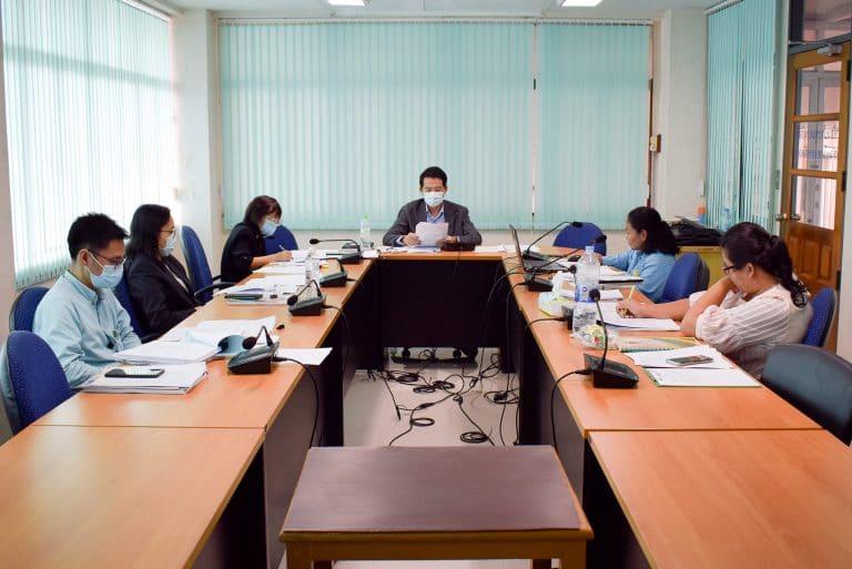 การประชุมคณะกรรมการบริหารคณะวิทยาการจัดการ ครั้งที่ 19/2563