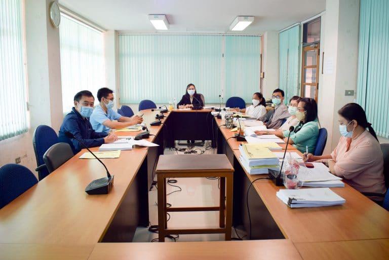 Read more about the article การประชุมคณะกรรมการวิชาการคณะวิทยาการจัดการ ครั้งที่ 7/2563