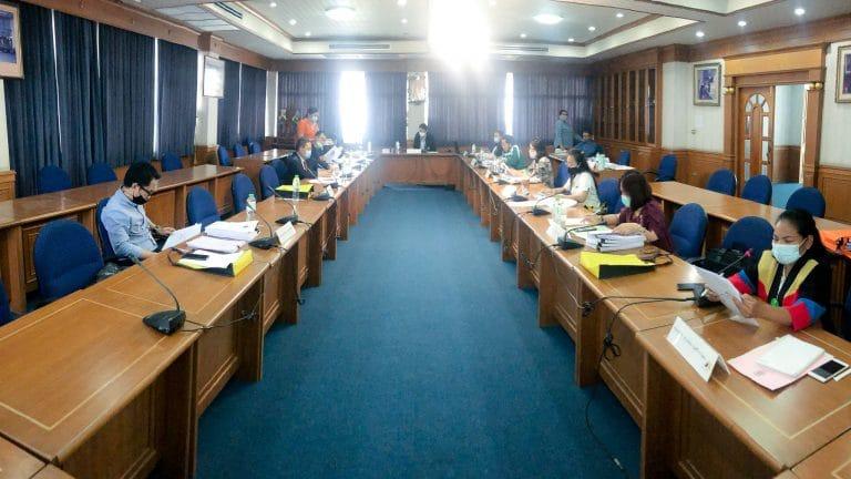 การประชุมคณะกรรมการประจำคณะวิทยาการจัดการ ครั้งที่ 5/2563