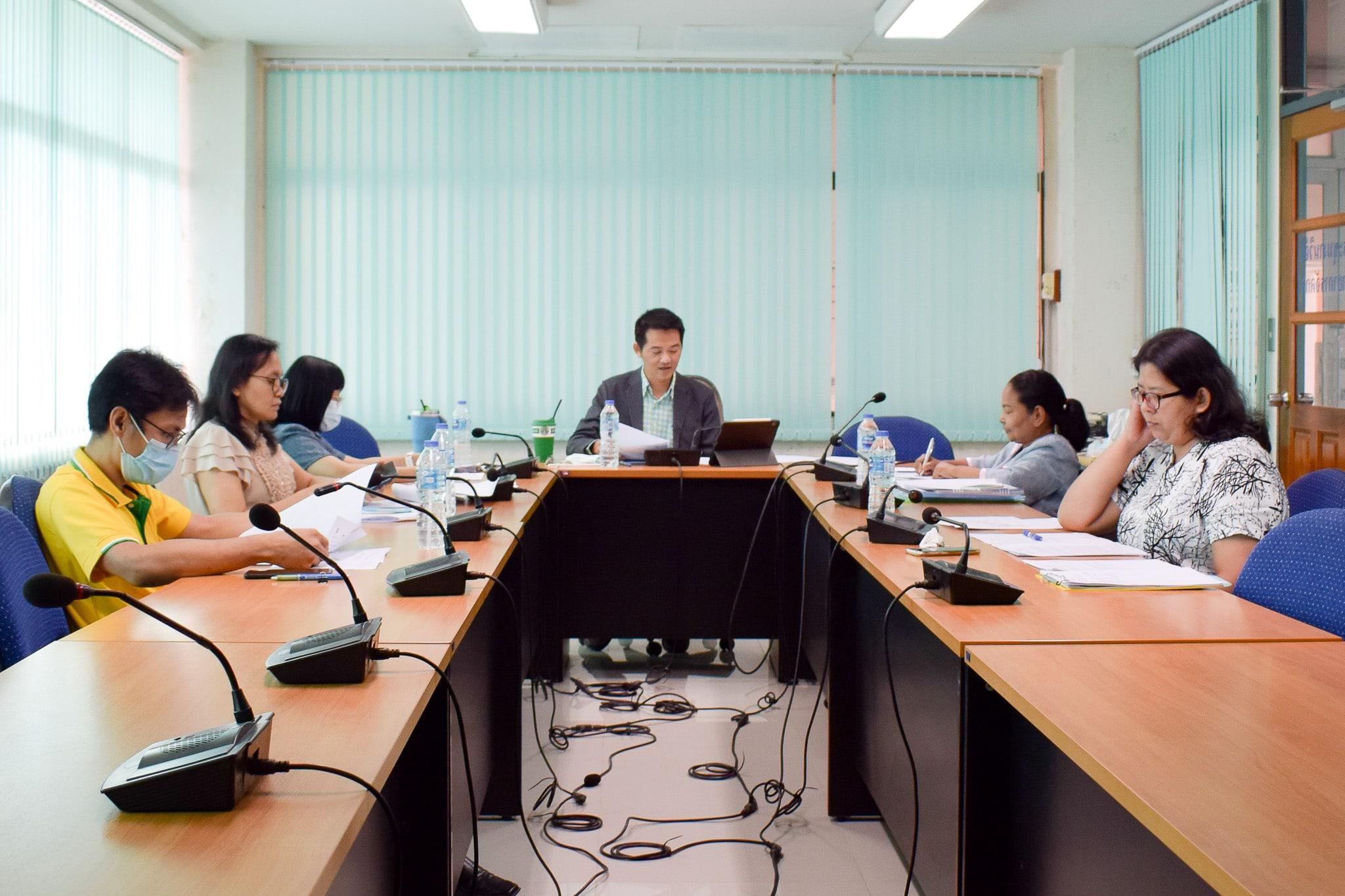 การประชุมคณะกรรมการบริหารคณะวิทยาการจัดการ ครั้งที่ 24/2563