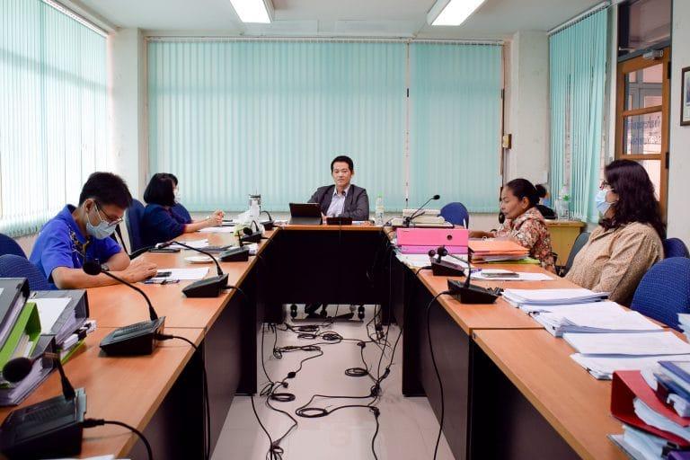 การประชุมคณะกรรมการบริหารคณะวิทยาการจัดการ ครั้งที่ 26/2563