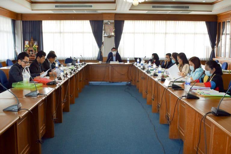 การประชุมคณะกรรมการประจำคณะวิทยาการจัดการ ครั้งที่ 6/2563