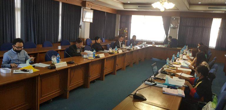 Read more about the article การประชุมคณะกรรมการประจำคณะวิทยาการจัดการ ครั้งที่ 7/2563