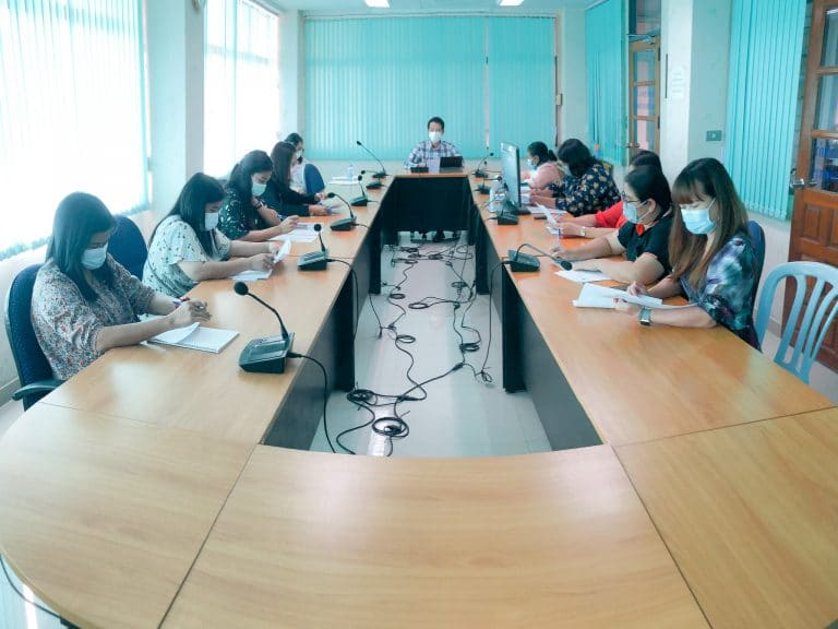 การประชุมคณะผู้บริหาร และบุคลากร คณะวิทยาการจัดการ