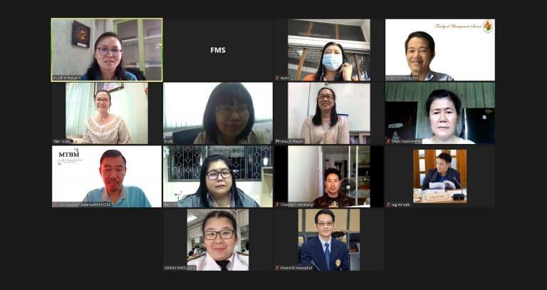 การประชุมคณะกรรมการฝึกประสบการณ์วิชาชีพ และสหกิจศึกษา ครั้งที่ 1/2564