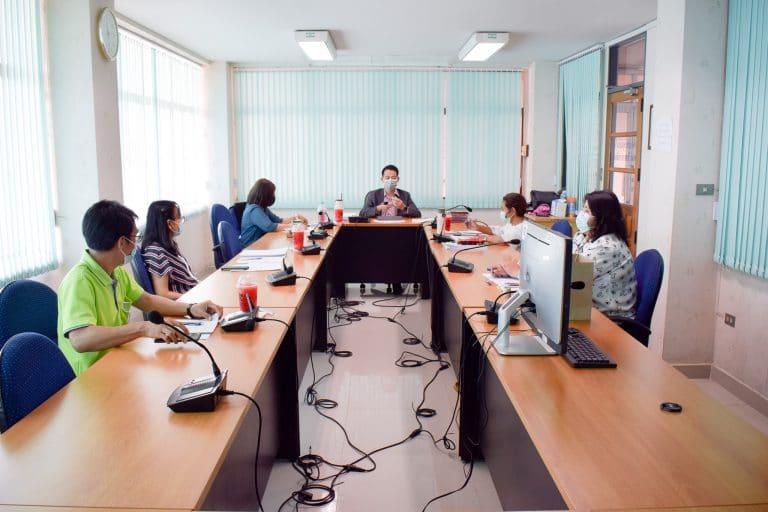 การประชุมคณะกรรมการบริหารคณะวิทยาการจัดการ ครั้งที่ 3/2564