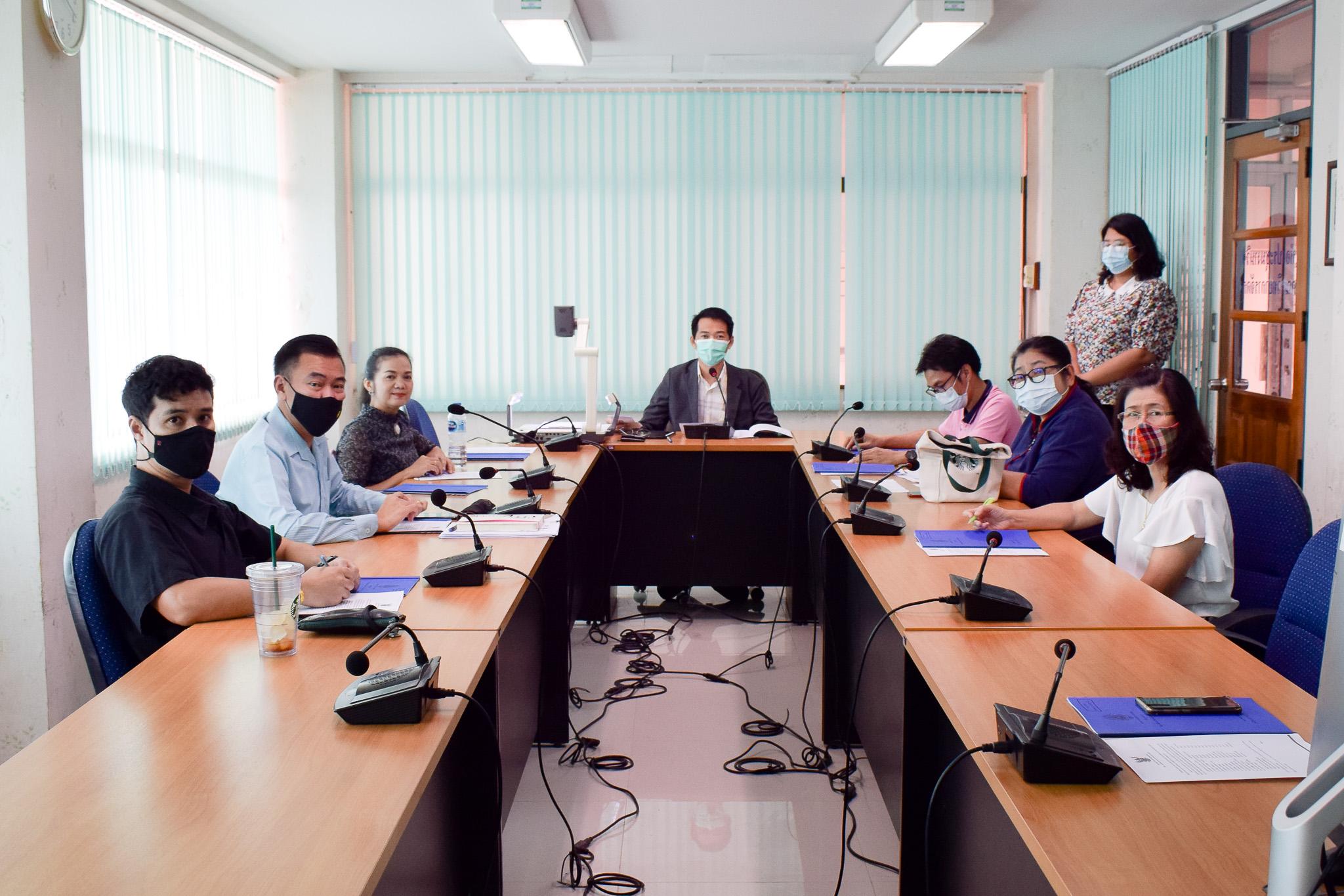 ประชุมคัดเลือกผู้แทนประธานสาขาวิชาเพื่อดำรงตำแหน่งคณะกรรมการประจำคณะวิทยาการจัดการ