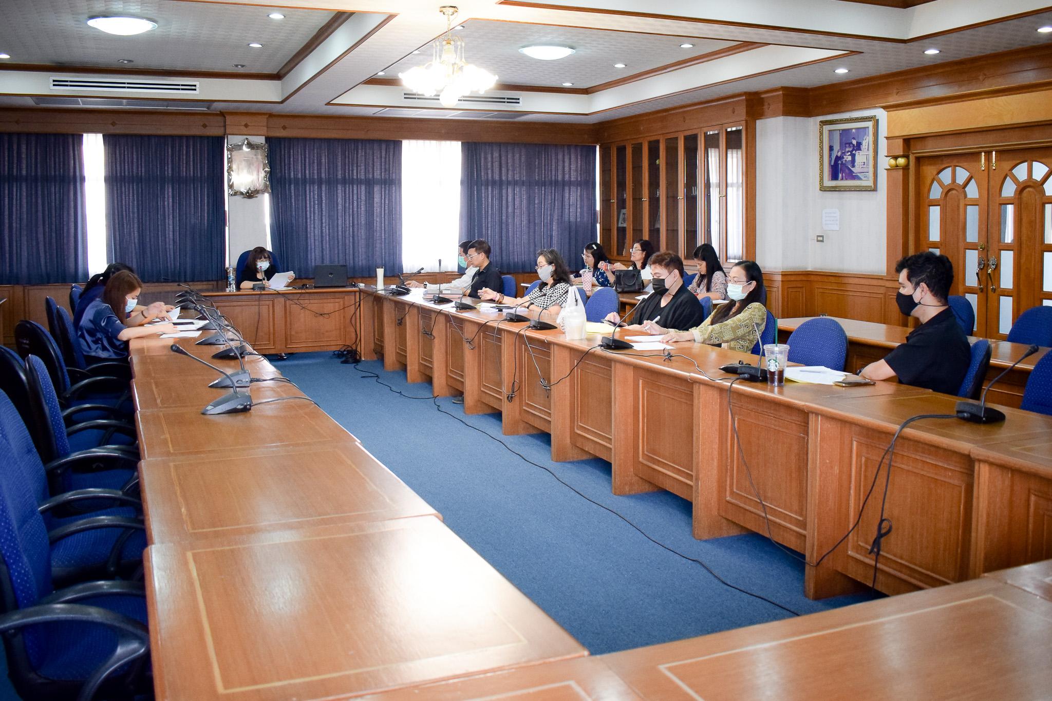 การประชุมคณะกรรมการวางแผนและพัฒนา คณะวิทยาการจัดการ ครั้งที่ 2/2564