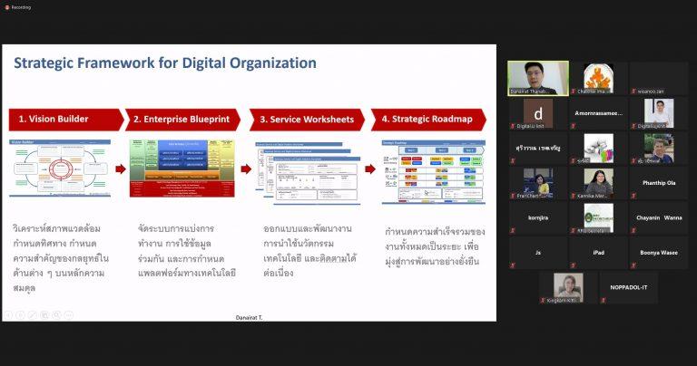 """โครงการอบรมการมุ่งสู่การเป็นมหาวิทยาลัยดิจิทัล Toward to Digital University """"Building the Digital University Platform"""""""